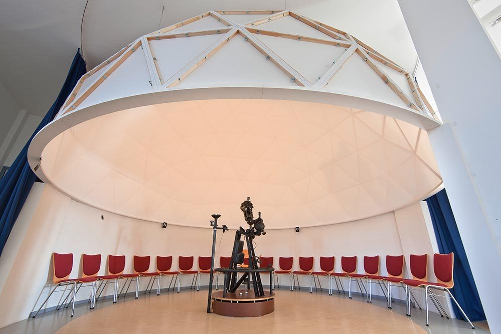 Innenausbau Referenz Planetarium Corpuslinea