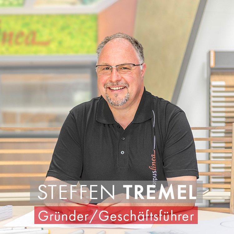 Steffen Tremel Inhaber und Gründer von corpuslinea aus Hoppegarten